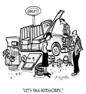 Car Dealer Cartoon 3162 T Shirt