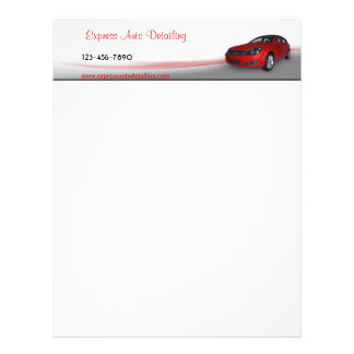 Car Dealer Letterhead