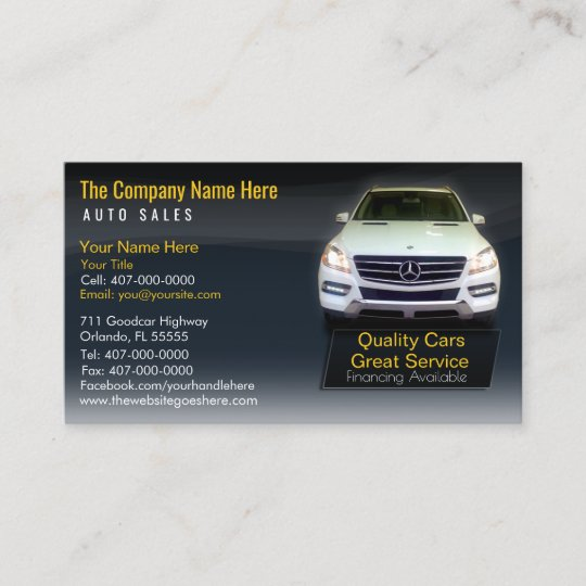 Freebie : Car Dealer Business Card Template Free PSD by ...  Car Sales Business Cards