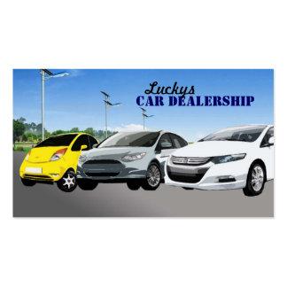 Car Dealership Business Cards