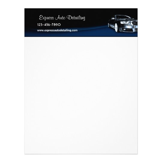 car dealership letterhead