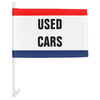 Car Dealership Promotional Signage Customizable Car Flag