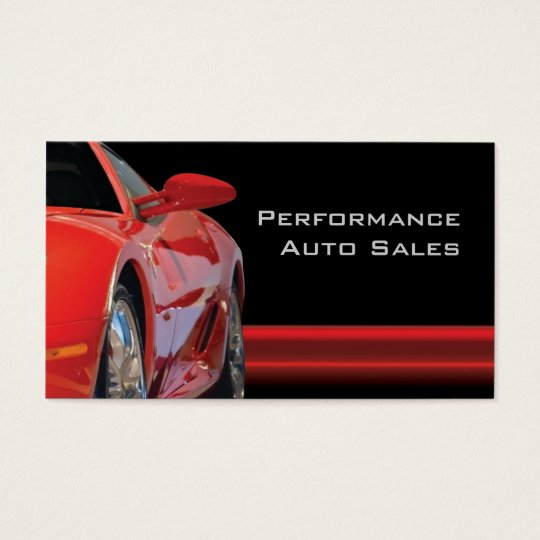 Car Detailer Business Card