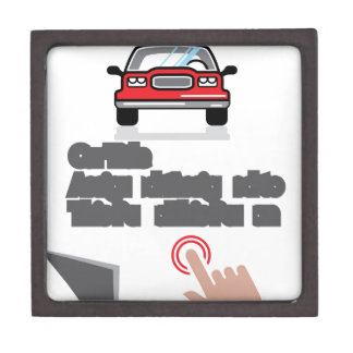 Car Document Click Sign Jewelry Box