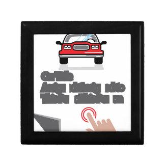 Car Document Click Sign Keepsake Box