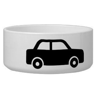 Car Dog Bowls