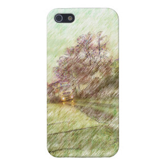 car drawing iPhone 5 cases