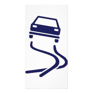 Car drift photo card
