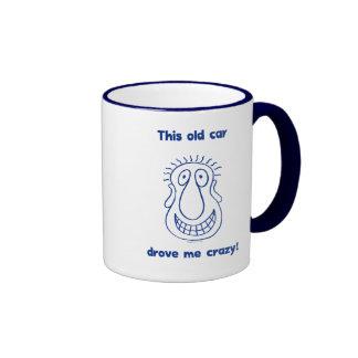 Car Drove Me Crazy Coffee Mugs