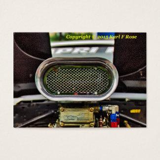 Car engine business cards