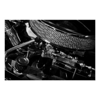 Car Engine Poster/Print