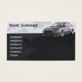 Car EVO Business Card