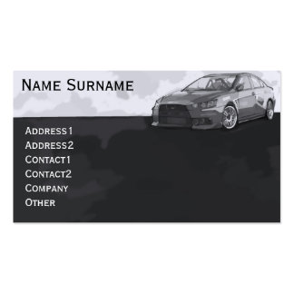 Car EVO Business Card