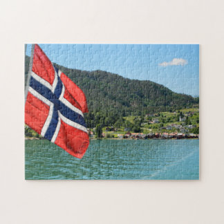 Car ferry in Norway jigsaw puzzle