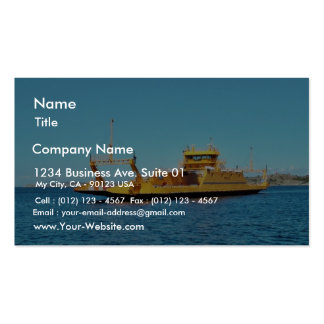Car Ferry Ship Business Card