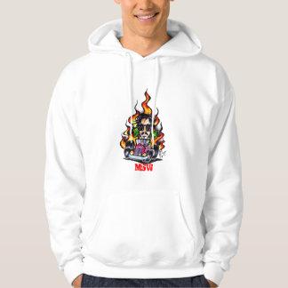 Car Flame Hoodie