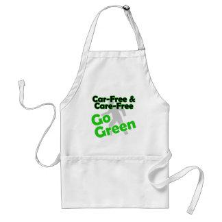 car free & care free adult apron