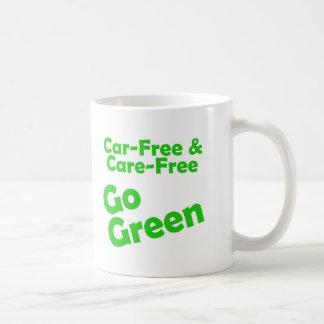 car free & care free coffee mug