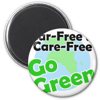 car free & care free magnet