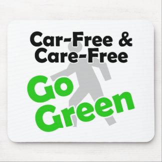 car free & care free mouse pad