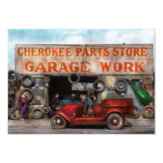 Car - Garage - Cherokee Parts Store - 1936 Card