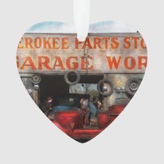 Car - Garage - Cherokee Parts Store - 1936 Ornament