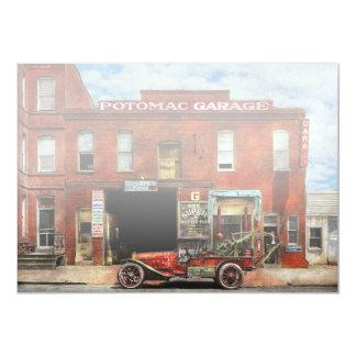 Car - Garage - Misfit Garage 1922 Card