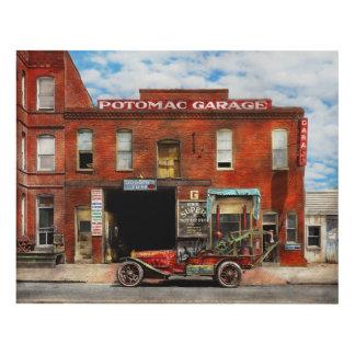 Car - Garage - Misfit Garage 1922 Panel Wall Art
