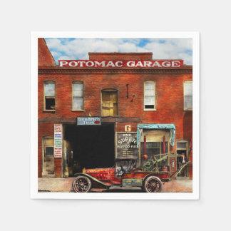 Car - Garage - Misfit Garage 1922 Paper Napkin