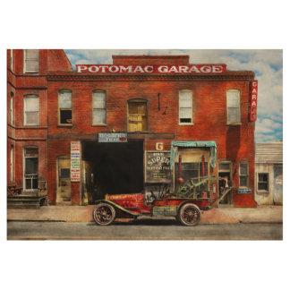 Car - Garage - Misfit Garage 1922 Wood Poster