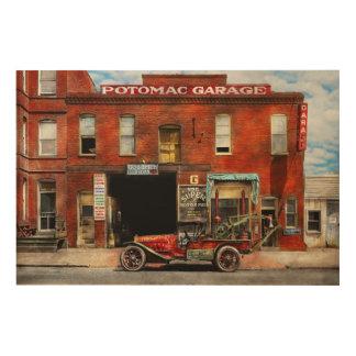 Car - Garage - Misfit Garage 1922 Wood Wall Art
