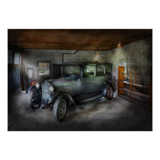 Car - Granpa's Garage Posters