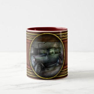 Car - Granpa's Garage Two-Tone Coffee Mug