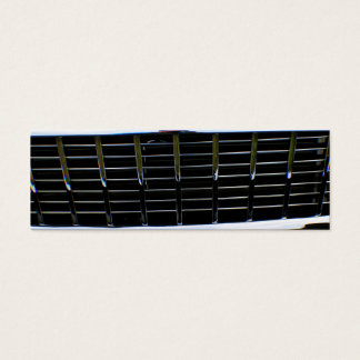 Car grille skinny business card