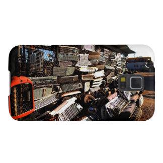 Car grills - Junkyard art Photograph Galaxy S5 Covers