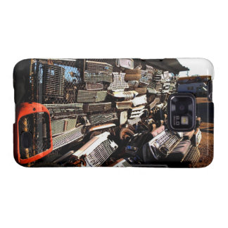 Car grills - Junkyard art Photograph Galaxy S2 Cases