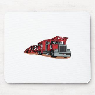Car Hauler Mouse Pad