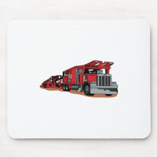 Car Hauler Mouse Pad