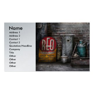Car - I fix cars Double-Sided Standard Business Cards (Pack Of 100)