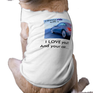 car icon, I LOVE you!!                 And your... Doggie T Shirt