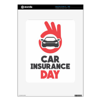 Car Insurance Day - Appreciation Day Skin For iPad
