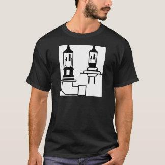 Car lightbulb headlight vector T-Shirt