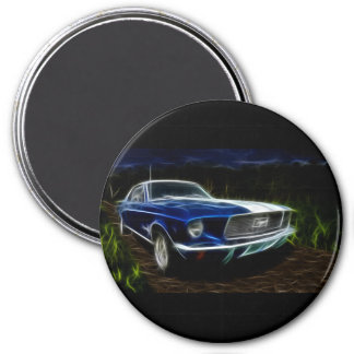 Car lighting magnet