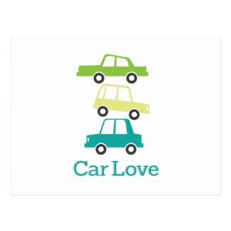 Car Love Postcard