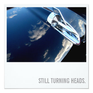 Car Lover 60th Birthday - Turning Heads Card