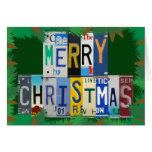 Car Lover Christmas Wishes Greeting Card