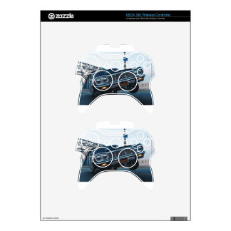 Car Low Rider Vintage Oldschool Automotive Driving Xbox 360 Controller Skin
