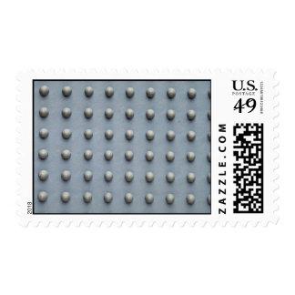 Car mat bottom postage stamps