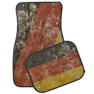 Car Mats Full Set with grange flag of Germany