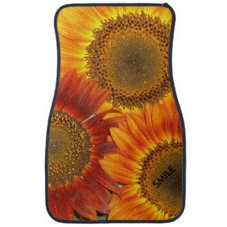 Car Mats Sunflowers - Set of 2